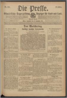 Die Presse 1917, Jg. 35, Nr. 222 Zweites Blatt