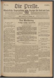 Die Presse 1917, Jg. 35, Nr. 224 Zweites Blatt