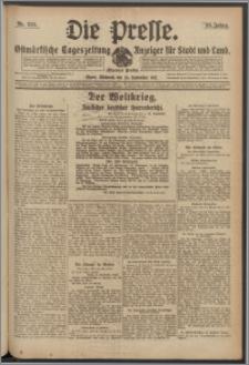 Die Presse 1917, Jg. 35, Nr. 225 Zweites Blatt