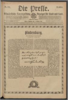 Die Presse 1917, Jg. 35, Nr. 230 Zweites Blatt