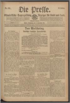 Die Presse 1917, Jg. 35, Nr. 262 Zweites Blatt