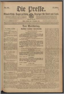 Die Presse 1917, Jg. 35, Nr. 263 Zweites Blatt