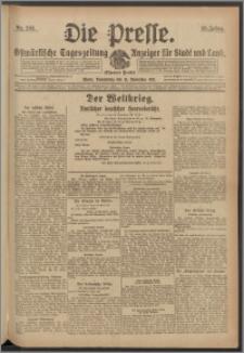 Die Presse 1917, Jg. 35, Nr. 268 Zweites Blatt