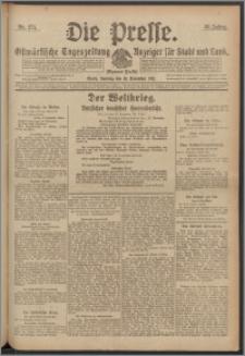 Die Presse 1917, Jg. 35, Nr. 271 Zweites Blatt