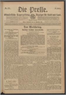 Die Presse 1917, Jg. 35, Nr. 275 Zweites Blatt