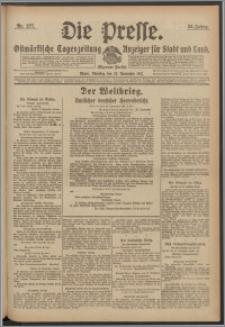 Die Presse 1917, Jg. 35, Nr. 277 Zweites Blatt
