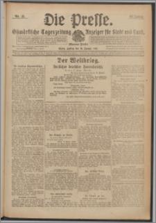 Die Presse 1918, Jg. 36, Nr. 15 Zweites Blatt