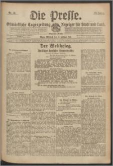 Die Presse 1918, Jg. 36, Nr. 49 Zweites Blatt