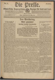 Die Presse 1918, Jg. 36, Nr. 74 Zweites Blatt