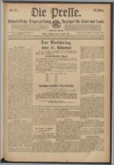 Die Presse 1918, Jg. 36, Nr. 93 Zweites Blatt