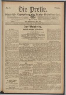 Die Presse 1918, Jg. 36, Nr. 94 Zweites Blatt