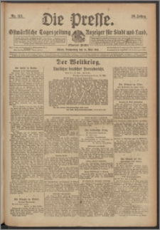 Die Presse 1918, Jg. 36, Nr. 113 Zweites Blatt