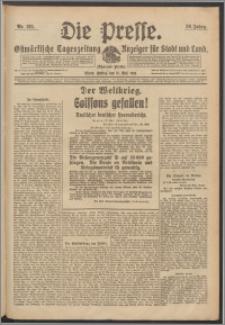 Die Presse 1918, Jg. 36, Nr. 125 Zweites Blatt