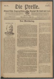 Die Presse 1918, Jg. 36, Nr. 179 Zweites Blatt