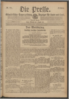 Die Presse 1918, Jg. 36, Nr. 183 Zweites Blatt