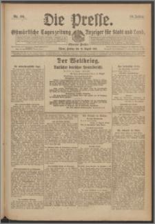 Die Presse 1918, Jg. 36, Nr. 191 Zweites Blatt