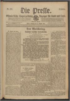 Die Presse 1918, Jg. 36, Nr. 200 Zweites Blatt