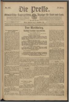 Die Presse 1918, Jg. 36, Nr. 222 Zweites Blatt