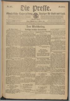 Die Presse 1918, Jg. 36, Nr. 237 Zweites Blatt