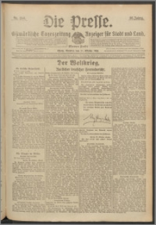 Die Presse 1918, Jg. 36, Nr. 254 Zweites Blatt