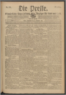 Die Presse 1918, Jg. 36, Nr. 270