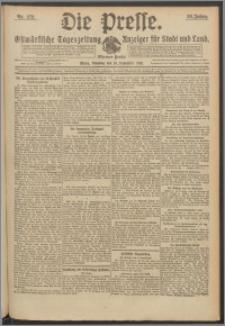 Die Presse 1918, Jg. 36, Nr. 272