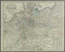 Post-Karte von Mittel-Europa : nach authentischen Quellen