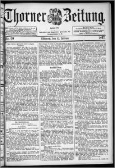 Thorner Zeitung 1897, Nr. 40