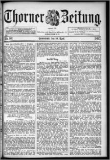 Thorner Zeitung 1897, Nr. 84