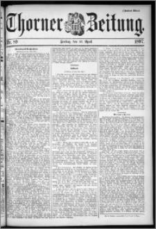 Thorner Zeitung 1897, Nr. 89 Zweites Blatt
