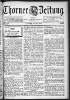 Thorner Zeitung 1897, Nr. 116
