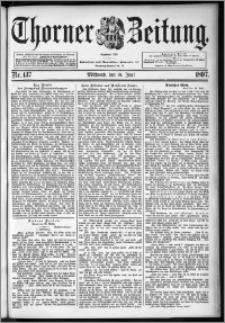 Thorner Zeitung 1897, Nr. 137