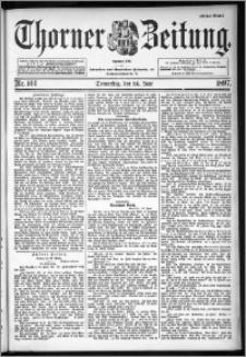 Thorner Zeitung 1897, Nr. 144 Erstes Blatt