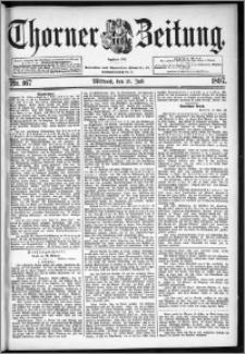 Thorner Zeitung 1897, Nr. 167