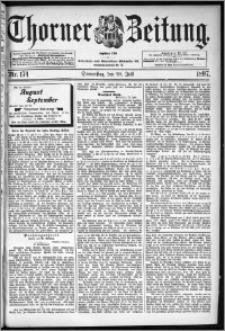 Thorner Zeitung 1897, Nr. 174