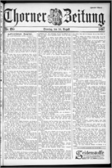 Thorner Zeitung 1897, Nr. 195 Zweites Blatt