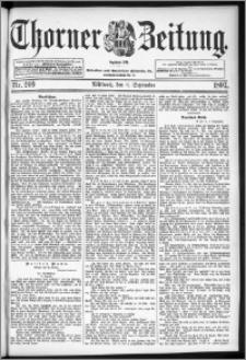 Thorner Zeitung 1897, Nr. 209