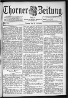 Thorner Zeitung 1897, Nr. 214