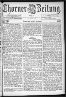 Thorner Zeitung 1897, Nr. 216