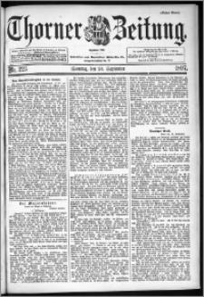 Thorner Zeitung 1897, Nr. 225 Erstes Blatt