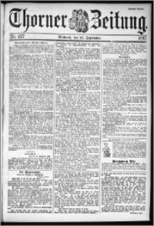 Thorner Zeitung 1897, Nr. 227 Zweites Blatt