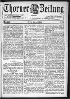 Thorner Zeitung 1897, Nr. 229