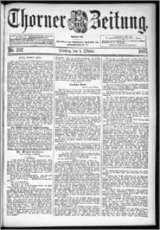 Thorner Zeitung 1897, Nr. 232