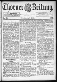 Thorner Zeitung 1897, Nr. 234