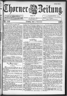 Thorner Zeitung 1897, Nr. 256 Erstes Blatt