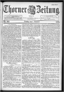 Thorner Zeitung 1897, Nr. 262 Erstes Blatt