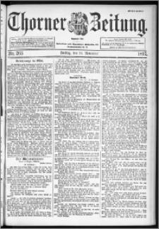 Thorner Zeitung 1897, Nr. 265 Erstes Blatt