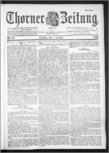 Thorner Zeitung 1898, Nr. 31 Erstes Blatt