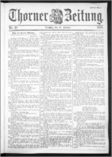 Thorner Zeitung 1898, Nr. 38 Zweites Blatt
