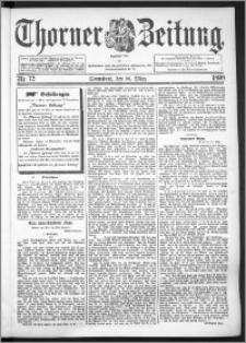 Thorner Zeitung 1898, Nr. 72